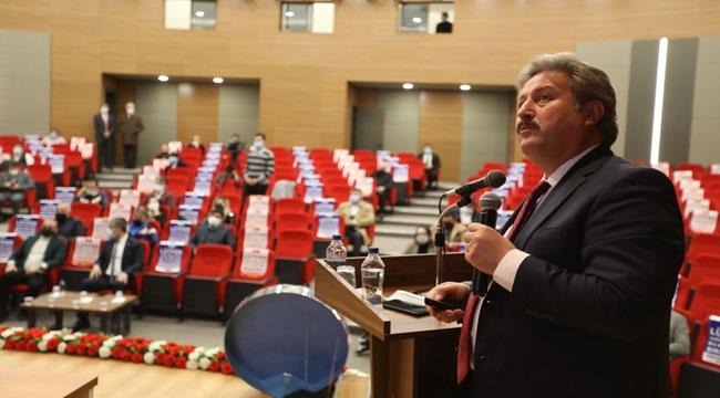 AKP MELİKGAZİ'YE 2020 FAALİYETLERİNİ ANLATTI